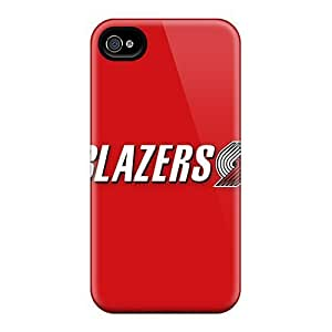 TYH - Durable Defender Case For Iphone 5/5s Tpu Cover(nba Portland Trail Blazers ) ending phone case