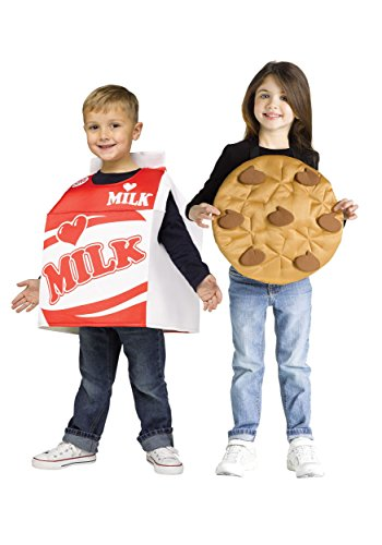 Milk & Cookies Pair Toddler Costume -