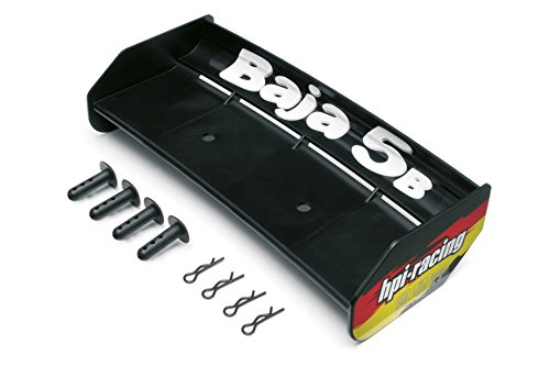 HPI Racing 85452 Wing Set, Black, Baja 5B -
