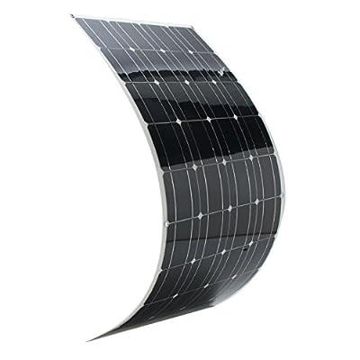 New Elfeland SP-36 120W 12V 1180540mm Monocrystalline Semi-Flexible Solar Panel With 1.5m Cable By koko