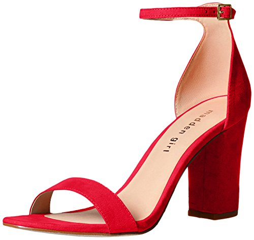 Madden Girl Women Beella Dress Sandal Red