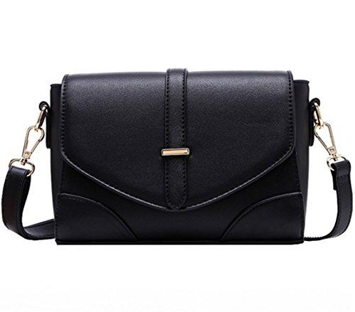 Satchel Business Bag Leather Crossbody Black Shoulder Casual Handbags Nodykka Women Tote Bags Purse wCnUqxwO