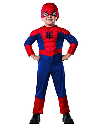 Marvel Toddler Boys Ultimate Spider-Man Muscle Costume with Mask 3-4T