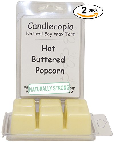 Candlecopia Hot Buttered Popcorn Strongly Scented Hand Po...