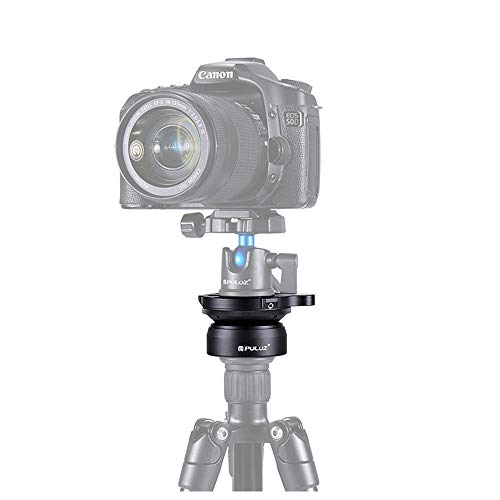 Professional Tripod Leveling Head Base 3/8 inch Thread Dome with Bubble Level