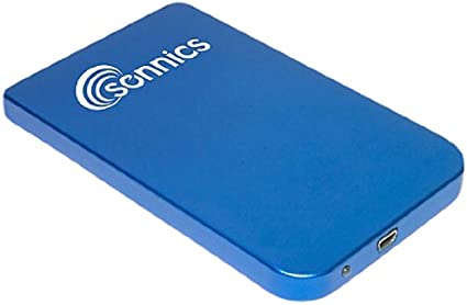 Sonnics - Disco Duro Externo portátil para Smart TV, PC, Mac y PS3 (320 GB, USB 2.0, Extra Fino, 2,5