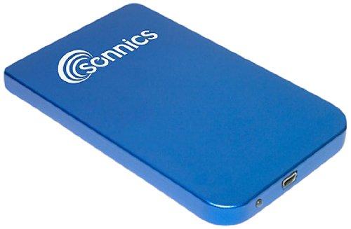 (Sonnics 320GB - Blue - Portable External Hard Drive Storage - USB 2.0)