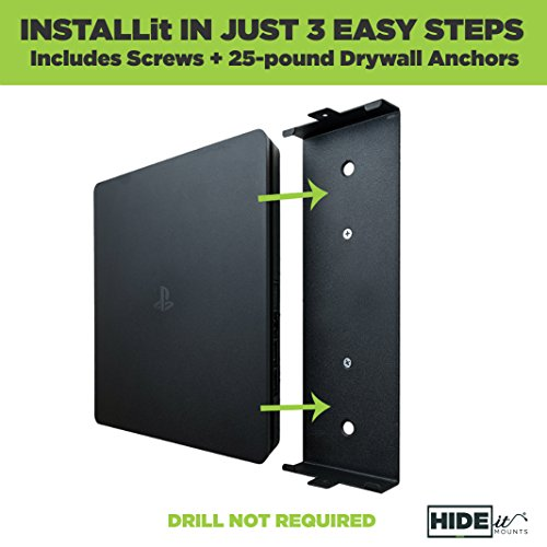 Hideit 4s Mount Playstation 4 Slim Wall Mount Made In