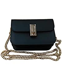 PVC Evening bags for women [ Designer Clutch with Chain ] Small Cross body Purse