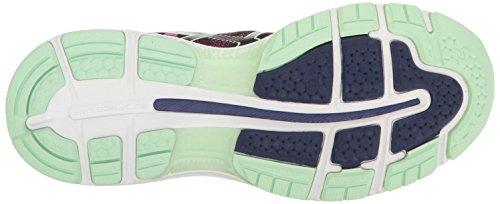 Mujer Gel Paradise de Rosado Asics Zapatillas Running Glow Verde Azul para Nimbus 19 Índigo 0nvd7vq
