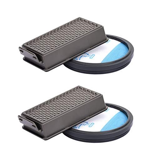 2pcs Kit de Recambios de Filtro HEPA para Rowenta/Tefal/Moulinex Compact Power Cyclonic Aspiradoras