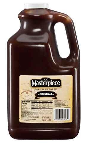 K.C. Masterpiece Original Barbecue Sauce, Gluten-Free, 158 oz. (4 Count)