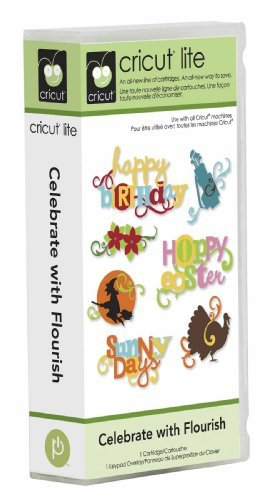 Cricut Lite Cartridge, Celebrate with Flourish Provo Craft #2000173