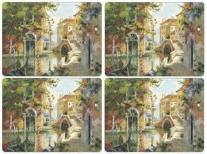 Pimpernel Venetian Scenes Placemats Set Of 4 Large