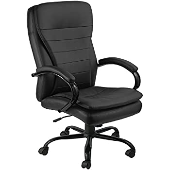 GTRacing Executive Office Chair High Back Manager Chair Recliner Napping Computer  Chair Black