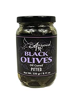 Auzoud Oil-Cured Black Olives, Pitted by Auzoud