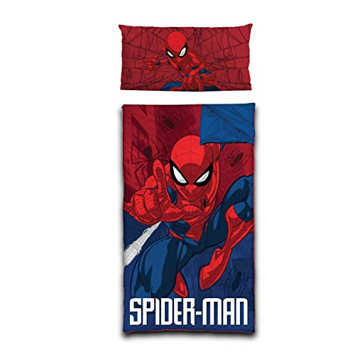 - Marvel Spiderman Slumber Bag with Pillow