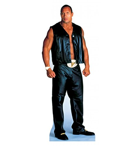 The Rock - WWE - Advanced Graphics Life Size Cardboard Standup (Out Standee Cut)
