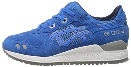 Asics lyte Blue Trainers Leather Iii Blue Mens Gel Mid mid wUgrqwa6nx