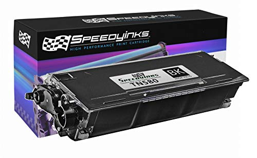 Speedy Inks - Compatible TN580 High Yield Black Laser Toner Cartridge for use in DCP-8060, DCP-8065, DCP-8065DN, HL-5200, HL-5240, HL-5240LT, HL-5250, HL-5250DN, HL-5250DNHY, HL-5250DNLT, HL-5250DNT, HL-5270DN, HL-5280, HL-5280DW, HL-5280DWLT, MFC-8460N, MFC-8470DN, MFC-8660DN, MFC-8670DN, MFC-8860DN, MFC-8860N, MFC-8870DW, & MFC-8870WN (Laser Printer Hl5250dn Brother)