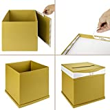 Andaz Press Gold Wedding Card Box with