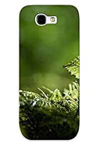New Arrival Green Sprouts For Galaxy Note 2 Case Cover Pattern For Gifts