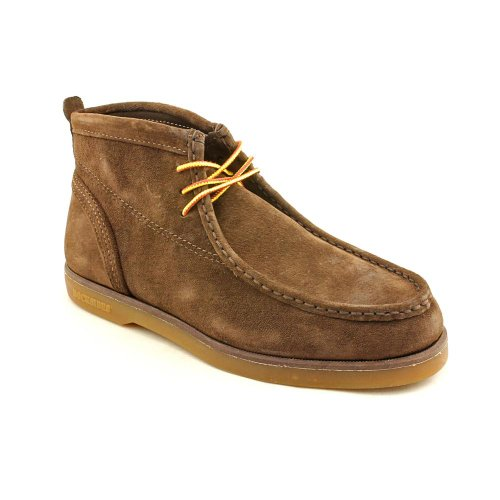 Sebago Mens Ankle Boots Size 8.5 W B20051 Caribou Brown Suede