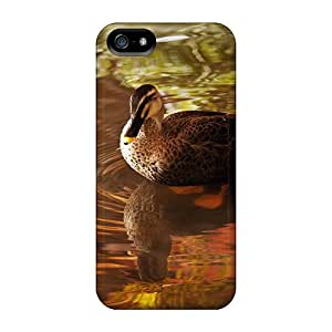 Fashionable YMQulPY5120eMAWV Iphone 5/5s Case Cover For Wild Boar Duck Protective Case