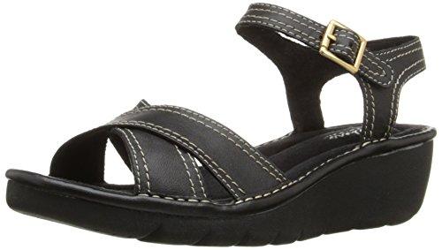 Skechers camafeo facetadas vestido de la sandalia Black
