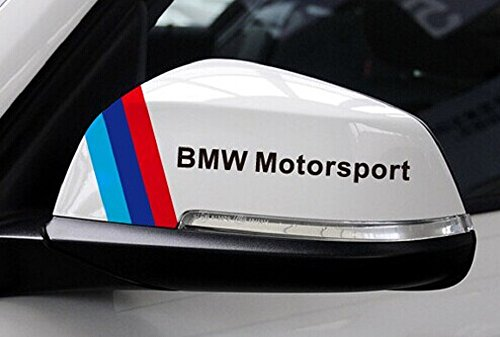 3Colors DIY Mirror Decorative Sticker 15cm for BMW X1 X3 X4 X5 X6 Z3 Z4 i3 i8 Z8 E63 E64 F20 F21 F25 E81 E84 E85 E86 E89 E34 E38 F10 F11 F30 F31 F10 E87 E88 E82 E36 E46 E90 E91 E92 E93 E39 E30 E32 E60 E61 E65 E66 F01 F02 M3 M4 M5 M6 F06 F07