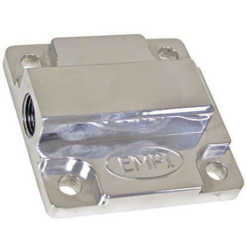 EMPI 17-2947 Billet Aluminum Oil Pump Cover, VW Bug, Baja, Volkswagen, Sand Rail, Sand Buggy (Billet Pump Aluminum Oil)