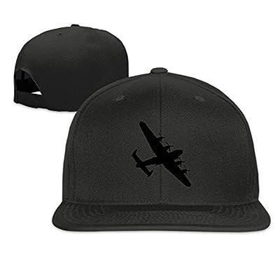 Bomber Silhouettes Plain Adjustable Snapback Hats Men's Women's Baseball Caps