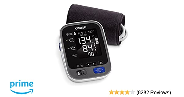 Amazon.com: Omron 10 Series Wireless Bluetooth Upper Arm Blood Pressure Monitor with Two User Mode (200 Reading Memory) - Compatible with Alexa: OMRON: ...