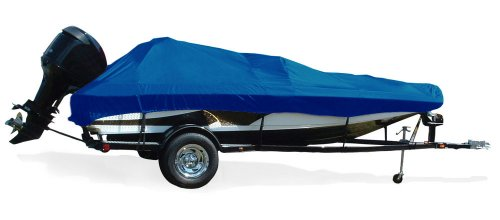 Bass Tournament Boats - Taylor Made Products Trailerite Semi-Custom Boat Cover for Tournament Bass Fishing Boats with Outboard Motors (15'5