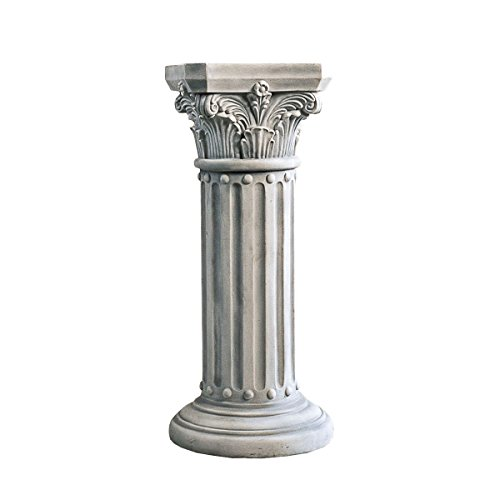 Design Toscano The Athena Corinthian Pedestal by Design Toscano