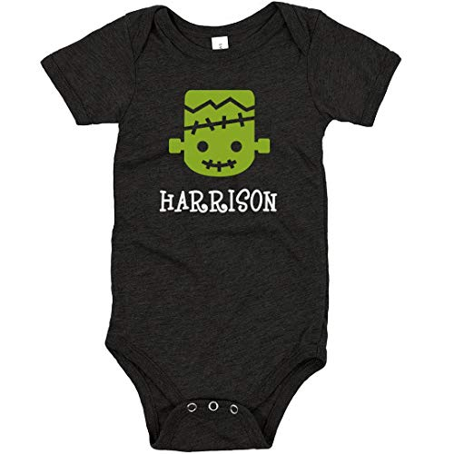 FUNNYSHIRTS.ORG Halloween Monster Harrison: Infant Triblend Bodysuit