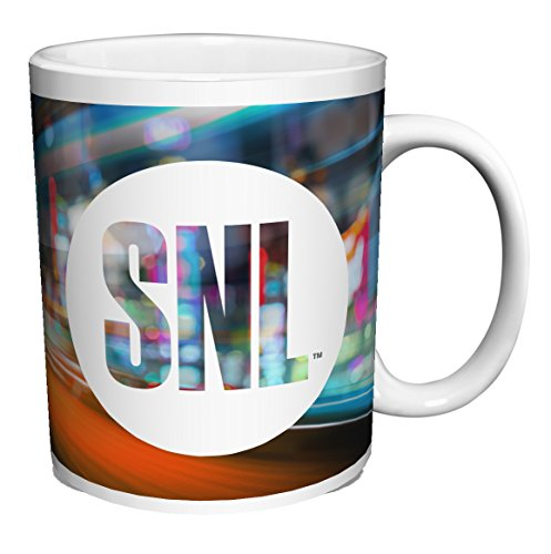SNL (SATURDAY NIGHT LIVE) LOGO TV Television Show Ceramic Gift Coffee (Tea, Cocoa) Mug, By CulturenikOfficially Licensed from NBC/Universal TV. (11 OZ C HANDLE CERAMIC MUG)