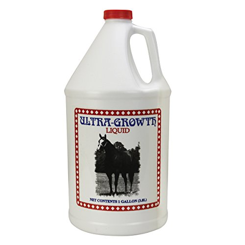 Cox Vet Labs Ultra Growth Muscle-building Horse Supplement, Gallon (128 ounces)