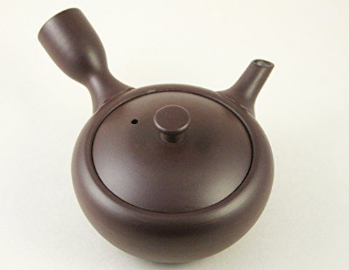 Japanese Teapot Kyusu Banko Yaki Hand-made 5 Oz (150 Ml)