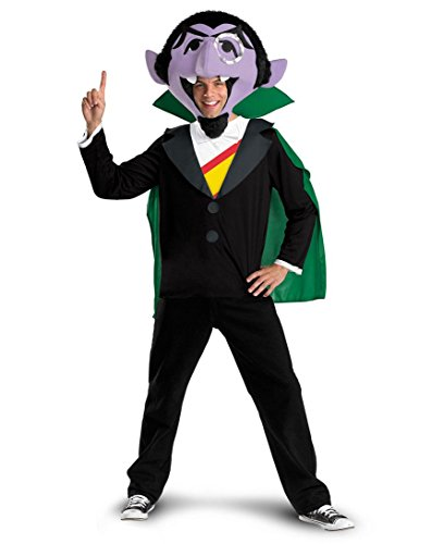 The Count Adult Sesame Street Costume -