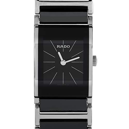 Rado Women's R20786152 Integral Black Dial Watch (Woman Rado Watch)