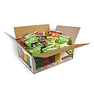 Kettle Brand Potato Chips Variety Pack, Sea Salt, New York Cheddar, Backyard Barbeque & Jalapeno, 30Count