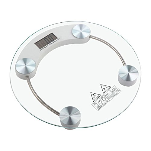 Apontus-Digital-Bathroom-Scale-GlassSilver-Body-Weight-Scale-400-lbs-180-kg-Capacity