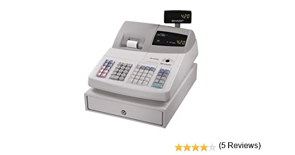 Amazon.com : Sharp XE-A202 High-Speed Electronic Cash Register ...