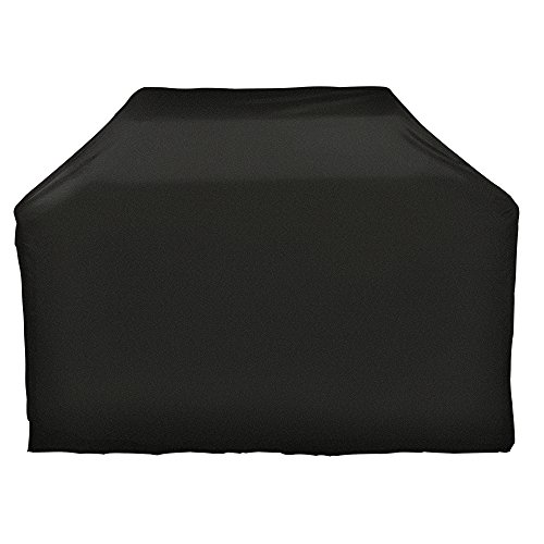 iCOVER Grill Cover-55 Inch Water Proof Patio Outdoor Black BBQ Barbecue Smoker/Grill Cover G11602-1 for Weber Char-Broil Brinkmann Holland JennAir and More