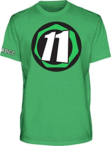 Abec11 Core 11 Xlarge Green Short Sleeve by ABEC 11