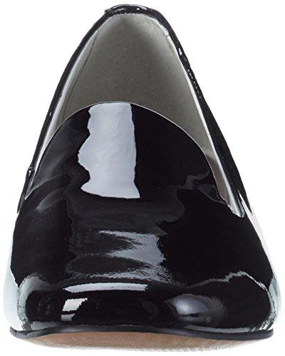 black Be Mocassins 18 24204 Noir Patent Natural Femme H66P7rXq