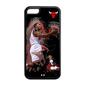meilz aiaiiPhone 5C TPU Case with Chicago Bulls Derrick Rose Graphic Image-by Allthingsbasketballmeilz aiai
