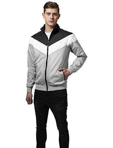 wht Cappotto Zip Jacket Uomo Arrow Mehrfarbig lightgrey 859 Classics blk Urban nzqI6E