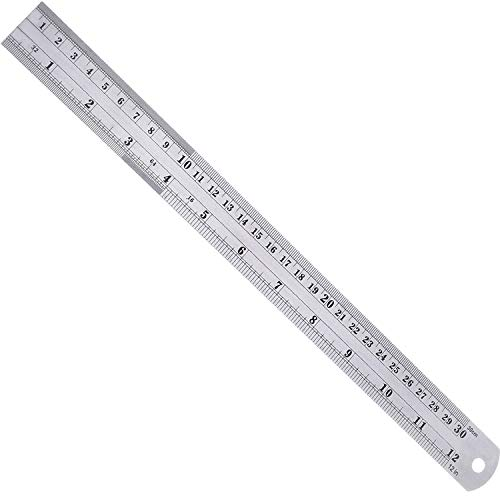 (Harden Stainless Steel Ruler with Conversion Table (60-Inch))